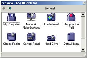 IZA BlueMetal