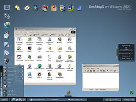DesktopX on Windows 2000 v.1