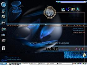 Crystal Blue DesktopX