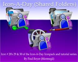Icon-A-Day #28, 29, 30 (Shared Folder)