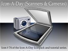 Icon-A-Day # 74 (Scanners & Cameras)