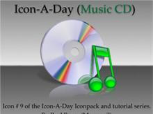 Icon-A-Day #9 (Music CD)