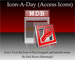 Icon-A-Day #13 (Access File)