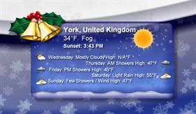 ChristmasTime Weather