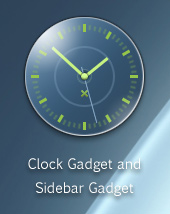 Jakuta Sidebar Clock