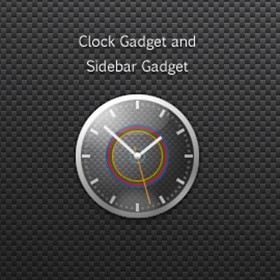 Charger Clock Gadget