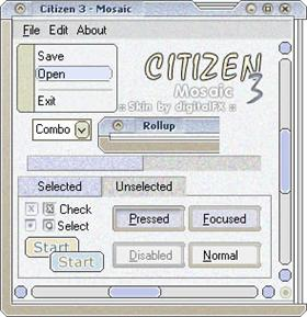 Citizen 3 Mosaic