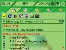 45° green