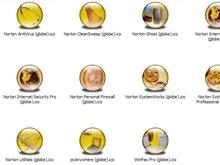 Symantec Apps XP Icons (Globe)