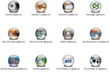 CD-R Apps 1 XP Icons (Globe)