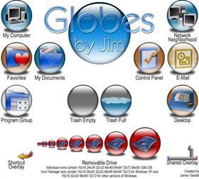 Globes by Jim 9x