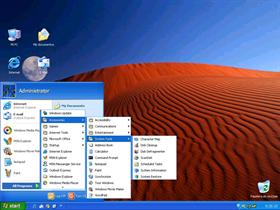 Windows XP Pro New Luna Blue