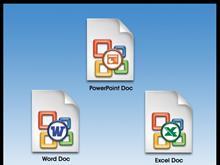 MS Office DocPack 2003 Rainbow