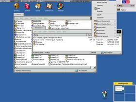 LiteBE 1.01 - BeOS Theme