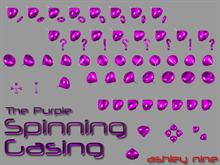 The Purple Spinning Gasing