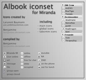 Albook for Miranda