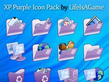 XP Purple Icon Pack