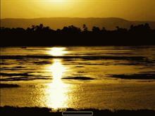 Sunset over Nile
