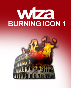 wtza Burning Icon (Nero Icon)
