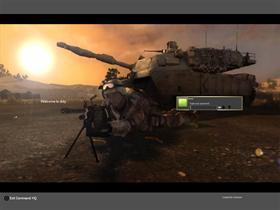 BF2 (Tank & gunner)