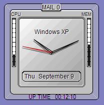 Simp clock