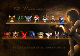 Mask Icons II