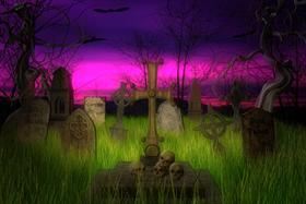 Dark Cemetery  WS