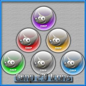 Gimp 2 Icons for ObjectDock