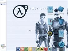 Half-Life 2 blue