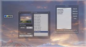 Dark Glass Desktop Control