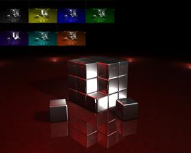 nice color magic cube pack