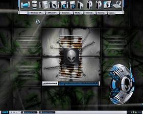 my Alien Desktop