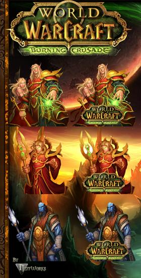 World of Warcraft: The Burning Crusade Dock Icons