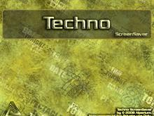 Techno Screen Saver