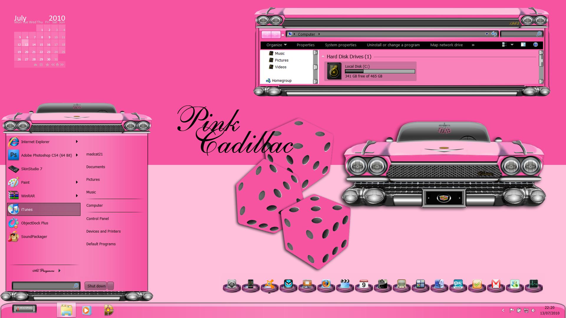 pink cadillac wb
