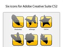 Adobe Creative Suite CS2 Icons