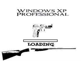 Black and white gun Professional