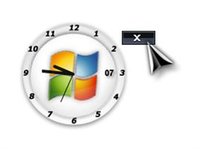 vista analog clock by quentin94 executable