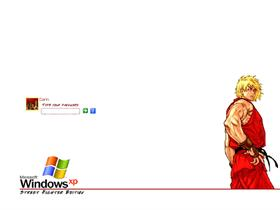 Street Fighter Logon - Ken