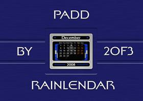 PADD Rainlendar