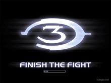 Halo3 finish the fight