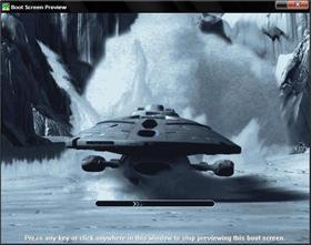 USS Voyager Crashing