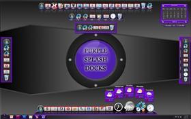 Purple Splash Docks