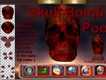 """Skull Bomb"" Poof + Png"