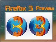 Firefox 3 preview