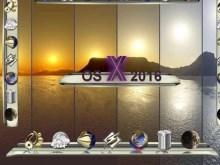 OS X 2016 Dock