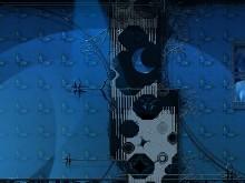 Blue Butterfly Wall