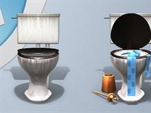 WaterTrashcan