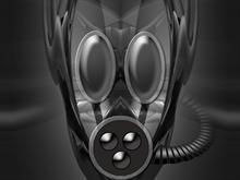 Grey Gasmask