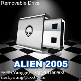 ALIEN 2005 (Removable Drive)